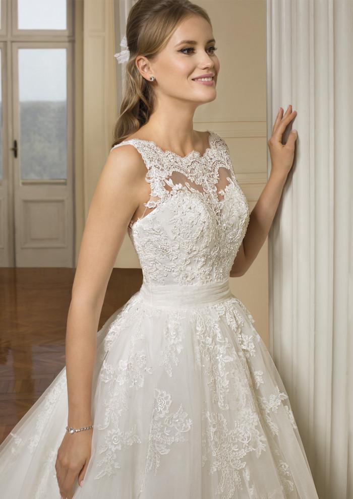 vestido de novia CEREZA